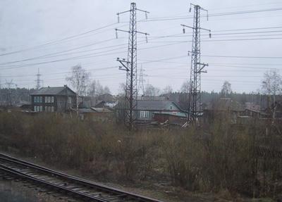 Ein Dorf in Russland