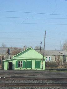 Das grüne Häuschen.