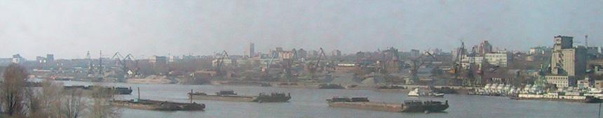 Novosibirsk - Hafen am Ob