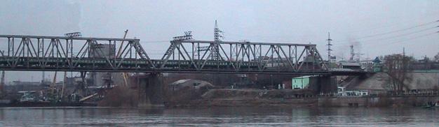 Brücke über den Ob